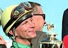 Chris Antley, after riding Charismatic to victory in the 1999 Kentucky Derby.