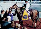 Harbor Springs produced 1996 champion 2-year-old Boston Harbor, shown in the Winner's Circle after the 1996 Breeders' Cup Juvenile.