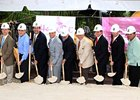 Ground Breaking ceremony for the Casino at Hialeah Park.