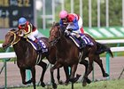 Nakayama Festa nabbed favorite Buena Vista in the stretch to win the Takarazuka Kinen at Hanshin Racecourse.