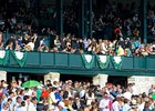 Keeneland Crowd on Blue Grass Stakes Day