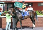 Jockey Manoel Cruz rode his 2,000th North American career winner on May 24 at Calder.