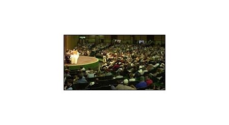Keeneland forum on the foal sickness affecting breeders and owners. May 10, 2001