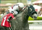 "River's Prayer and jockey Clinton Potts win the Las Cienegas Handicap, Sunday at Santa Anita.<br><a target=""blank"" href=""http://www.bloodhorse.com/horse-racing/photo-store?ref=http%3A%2F%2Fpictopia.com%2Fperl%2Fgal%3Fprovider_id%3D368%26ptp_photo_id%3D1012881%26ref%3Dstory"">Order This Photo</a>"