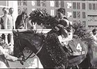 Ron Franklin and Spectacular Bid, in the winner's circle following the 1979 Kentucky Derby.