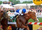 "Shackleford and Jesus Castanon take Preakness Stakes.<br><a target=""blank"" href=""http://www.bloodhorse.com/horse-racing/photo-store?ref=http%3A%2F%2Fpictopia.com%2Fperl%2Fgal%3Fprovider_id%3D368%26ptp_photo_id%3D9533774%26ref%3Dstory"">Order This Photo</a>"