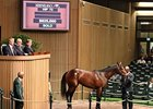 Keeneland April sale, Hip 72 sold for $625,000.