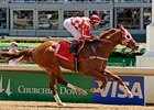 Elite Squadron shown winning the Churchill Downs Handicap (gr. II)
