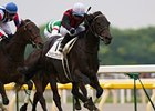 "Eishin Flash scored an upset victory in the Japanese Derby at Tokyo Racecourse. <br><a target=""blank"" href=""http://www.bloodhorse.com/horse-racing/photo-store?ref=http%3A%2F%2Fpictopia.com%2Fperl%2Fgal%3Fprovider_id%3D368%26ptp_photo_id%3D9025499%26ref%3Dstory"">Order This Photo</a>"