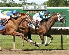 Gottcha Gold Gets to Wire Just in Time in Salvator Mile