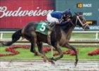 Slew's Tizzy wins a sloppy Lone Star Derby.