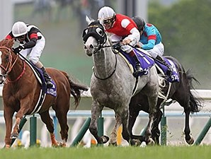 Gold Ship wins the Tenno Sho.
