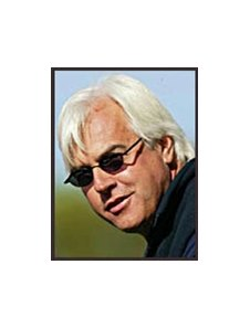 Bob Baffert, seeking stay in court.