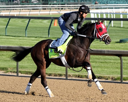 International Star on the track at Churchill Downs on April 28, 2015.