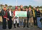 Juan Serey wins 1,000th race.