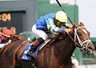 Caminadora, 32-1, Steals Regret Stakes