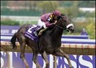 "War Pass skips over the wet track to victory in the Breeders' Cup Juvenile.<br><a target=""blank"" href=""http://www.bloodhorse.com/horse-racing/photo-store?ref=http%3A%2F%2Fpictopia.com%2Fperl%2Fgal%3Fprovider_id%3D368%26ptp_photo_id%3D2626406%26ref%3Dstory"">Order This Photo</a>"