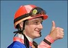 Newcomer Julien Leparoux leads all jockeys with 403 wins in 2006.