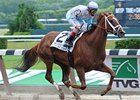 "Life At Ten comes home strong to take the Ogden Phipps Handicap.<br><a target=""blank"" href=""http://www.bloodhorse.com/horse-racing/photo-store?ref=http%3A%2F%2Fpictopia.com%2Fperl%2Fgal%3Fprovider_id%3D368%26ptp_photo_id%3D9063736%26ref%3Dstory"">Order This Photo</a>"