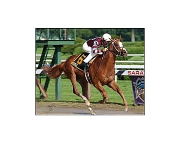 Cuvee, winning the Saratoga Special.