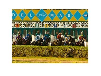 Fewer races have been run at Del Mar compared to this date a year ago.