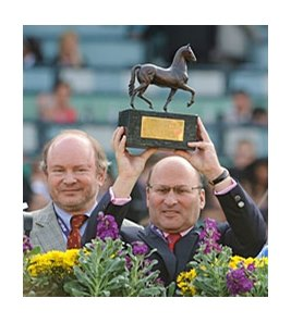 Alain and Gerard Wertheimer, who own the great mare Goldikova, are 93rd on Forbes' list of billionaires.