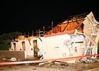 Churchill Downs damage following the 2011 tornado.