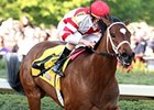 Havre de Grace and Ramon Dominguez take the Azeri at Oaklawn.