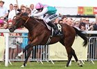 Frankel stays unbeaten with a victory in the St. James's Palace Stakes.