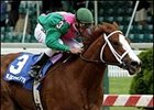 Wildcat Bettie B wins the Miss Preakness Stakes.
