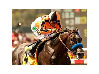 The Factor wins the Pat O'Brien Stakes