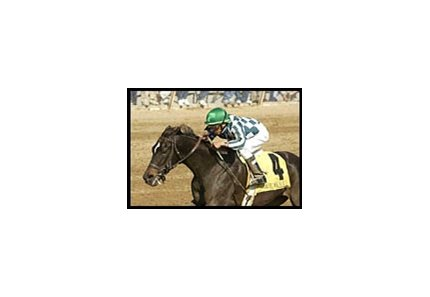 Victory Ride, winning the Madison Stakes at Keeneland.