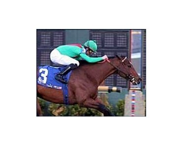 Onthedeanslist wins the Col. Bradley Handicap at the Fair Grounds meet at Harrahs Louisiana Downs.