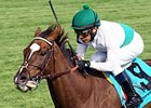Kitten's Point won the 1 1/2-mile Bewitch Stakes (gr. IIIT) at Keeneland in her last start