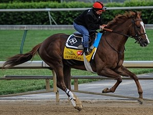 Dullahan works April 28 at Churchill Downs