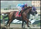 Left Bank, winning the Vosburgh.