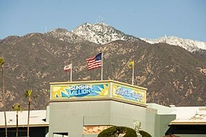 Sunshine Millions On at Santa Anita