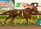 Briecat winning the Bayakoa Handicap (gr. II).