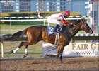 Badge of Silver returns to action with a win Friday at the Fair Grounds.