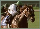 Congaree, winning the Del Mar Breeders' Cup Handicap.