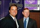 Breeders' Cup President Greg Avioli, left, and Breeders' Cup Chairman Bill Farish launch the Breeders' Cup Challenge.