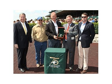 Ken McPeek captured his first spring trainer title.