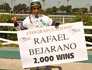 Bejarano Nails Down 2,000th Career Victory