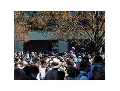 "The people came out to Keeneland, but handle was down.<br><a target=""blank"" href=""http://www.bloodhorse.com/horse-racing/photo-store?ref=http%3A%2F%2Fpictopia.com%2Fperl%2Fgal%3Fprovider_id%3D368%26ptp_photo_id%3D8037845%26ref%3Dstory"">Order This Photo</a>"