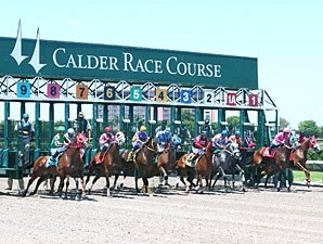 Calder Opens First Live Meet with Slots