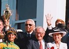 Robert and Beverly Lewis after winning their second Kentucky Derby with Charismatic in 1999.