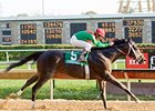 Fairbanks pulls away in the Hawthorne Gold Cup.
