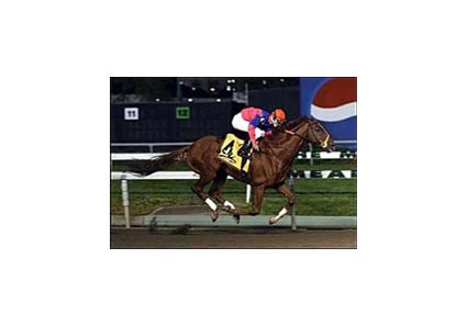 Bowman's Band won the 2003 Meadowlands Breeders' Cup Stakes.