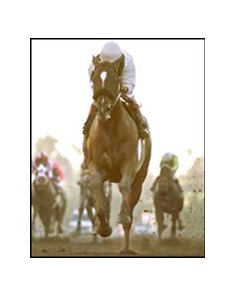 Congaree, winning the San Pasqual, worked Monday.