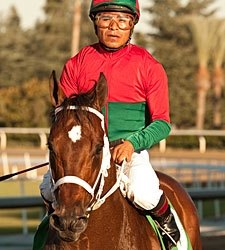 Jeranimo Heads Cup Workers at Santa Anita